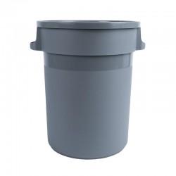 Cubo basura plástico