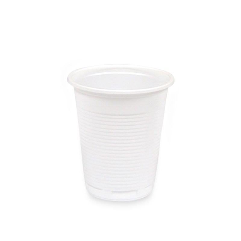 vaso blanco un solo uso
