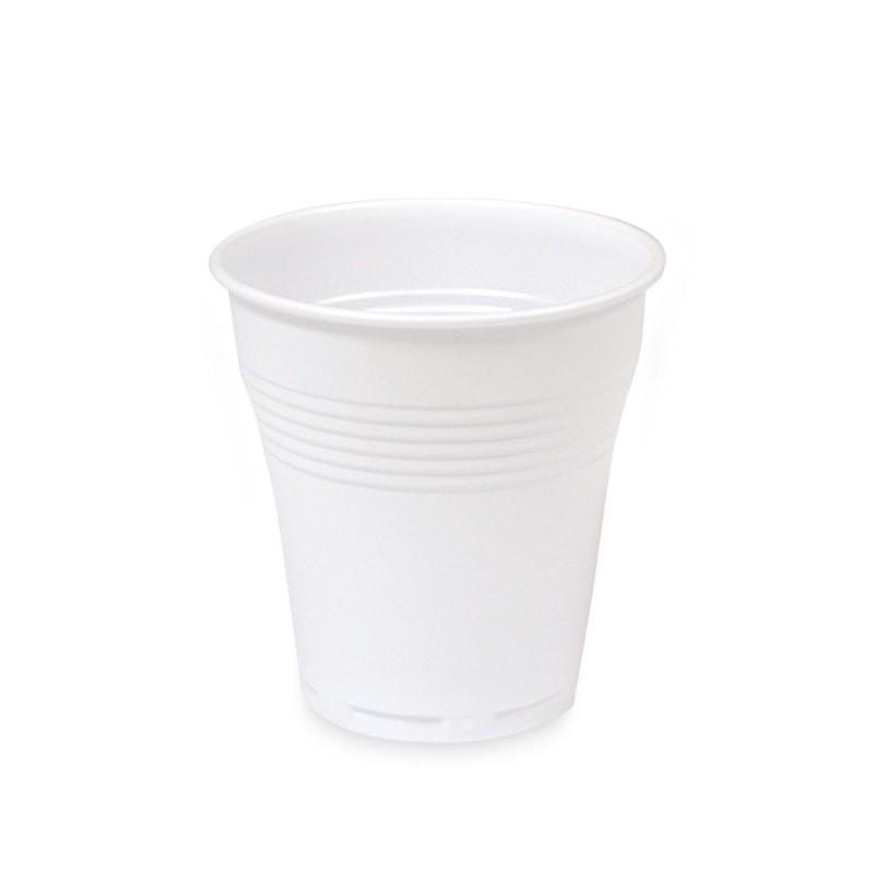 vaso vending blanco