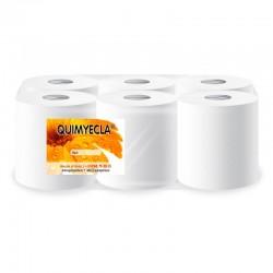 papel secamanos blanco