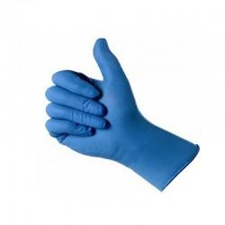 guantes vinilo azul