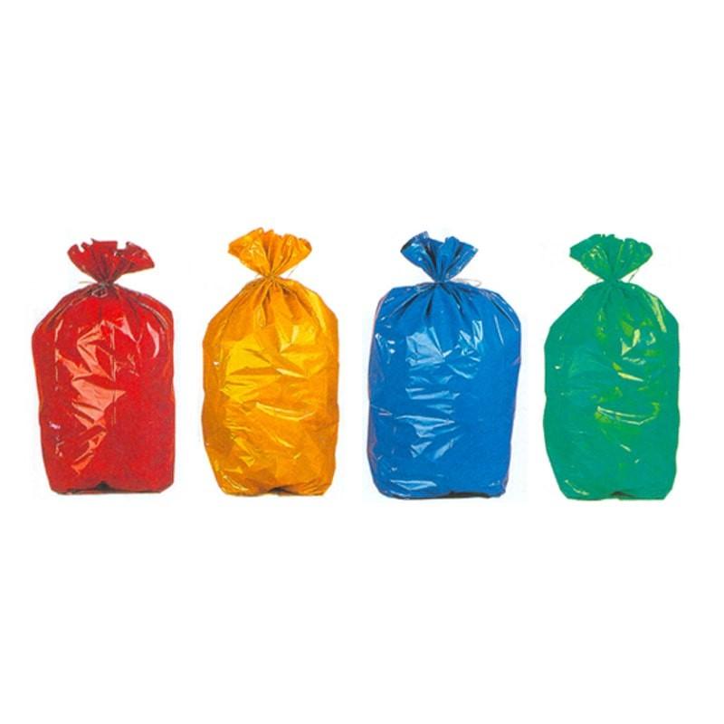 bolsas basura colores