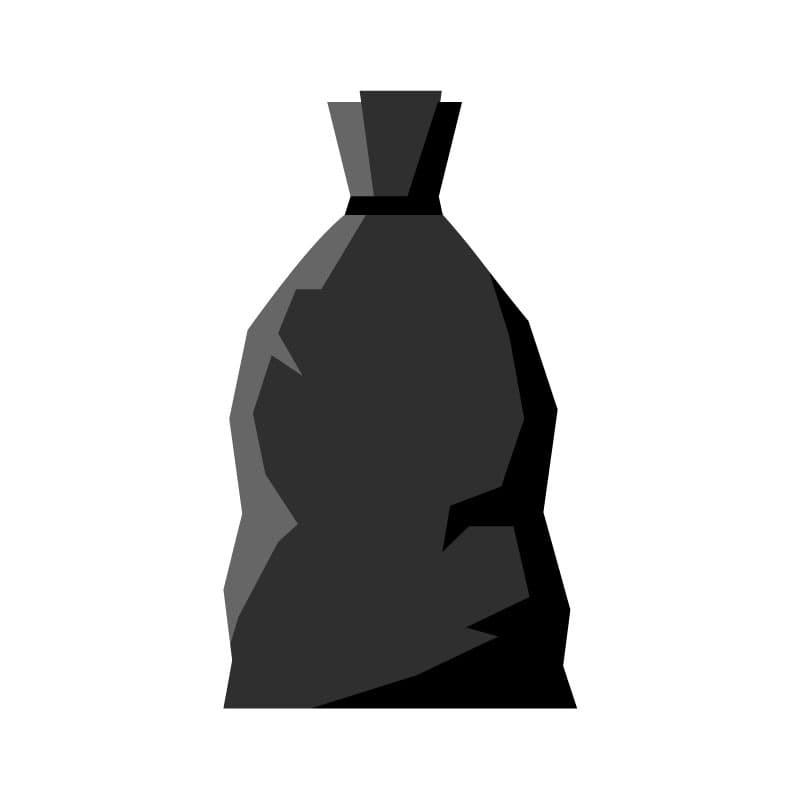 bolsas basura industrial negra