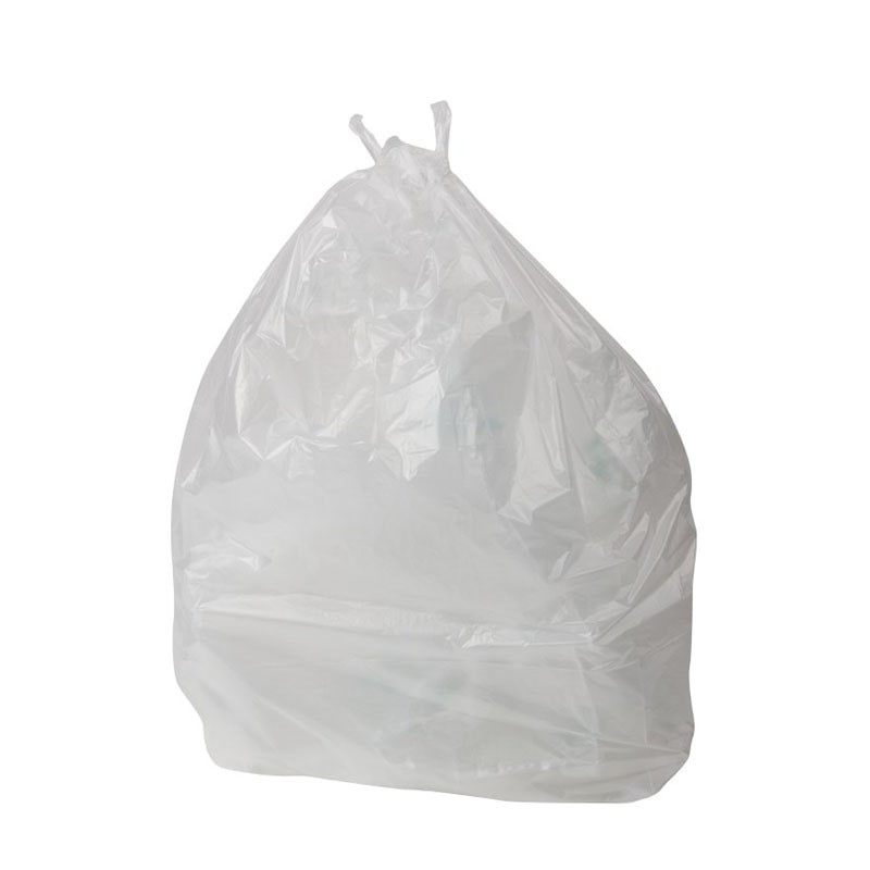 bolsa blanca papelera