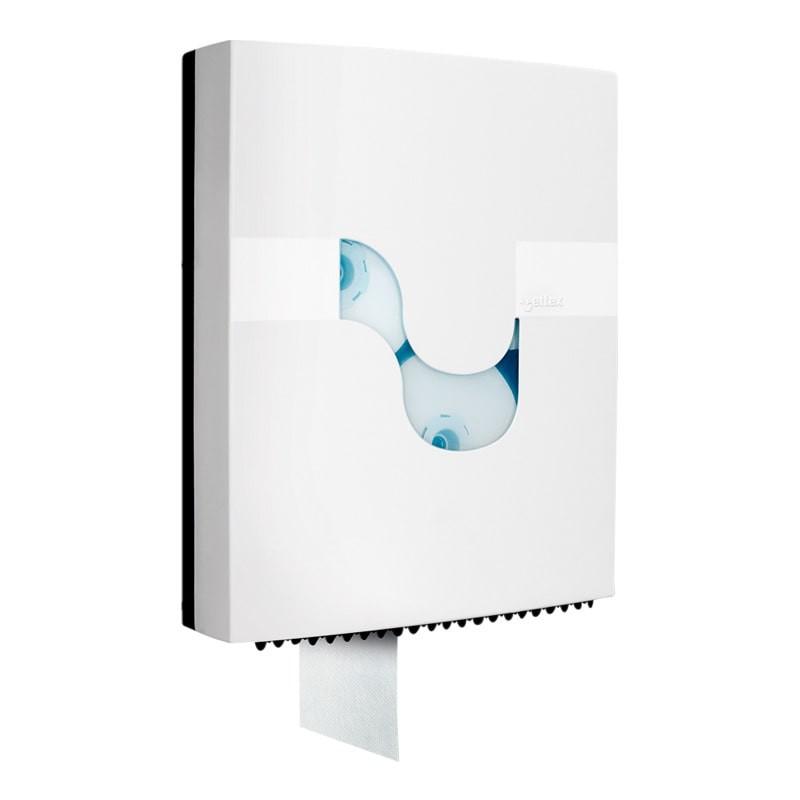 Dispensador papel higiénico rotatorio