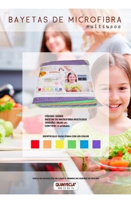 bayetas microfibra de colores