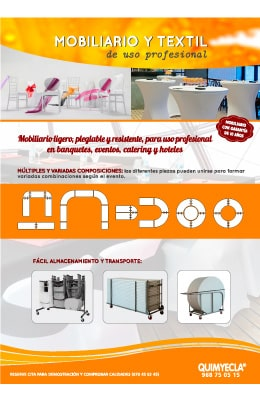 Mobiliario para hostelería